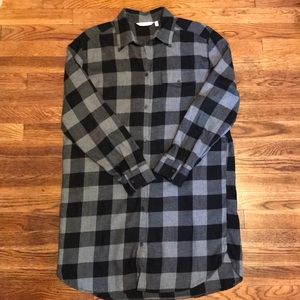 & Other Stories Checked Flannel Shirtdress